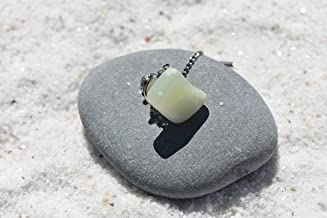 Custom Jade Stone Tie Tack Handmade - Quantity of 1