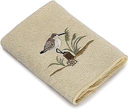 Avanti Sea Birds Wash Cloth, Ivory