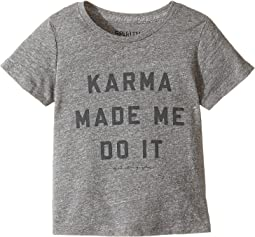 Spiritual Gangster Kids - Karma Made Me Do It Tee (Toddler/Little Kids)