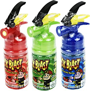 Set of 3 - 2.05oz Assorted Quick Sour Blast Candies! Perfect for Movie Night, Feild Trips, Road Trips and More!