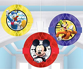 Mickey On The Go Honeycomb Decoration