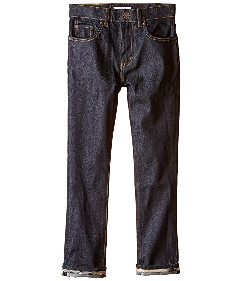 Burberry Kids Relaxed Slim Casual Trousers (Little Kids/Big Kids)