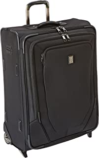 Crew 10 26 Inch Expandable Rollaboard Suiter, Black, One Size