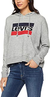 Levi's Women's Graphic Track Hoodie Sportswear Logo, Simple Life