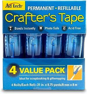 Adtech 05603 Glue Runner Permanent 35Yds Total (4 pack Each), 0.31 x 315