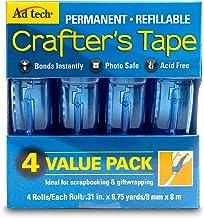 Adtech Glue Runner Permanent 35Yds Total (4 Pack Each), Single Pack
