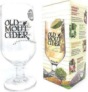 Old Mout Cider Copa de pinta de cristal en caja de regalo oficial de la marca (1 vaso)