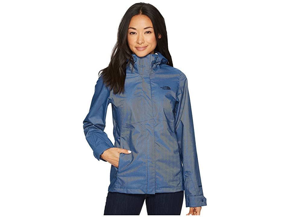 The North Face Berrien Jacket (Blue Wing Teal Denim) Women