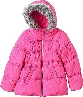 Girls' 2T-6X Sparkle Bubble Jacket