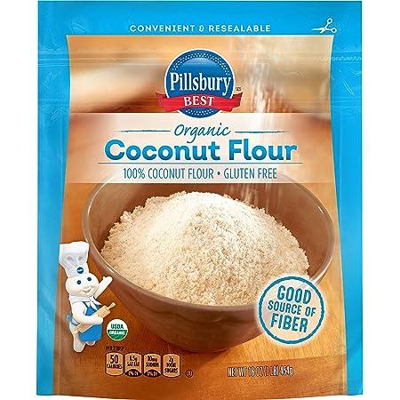 Pillsbury BEST Organic Coconut Flour, 16 Ounce, Gluten Free