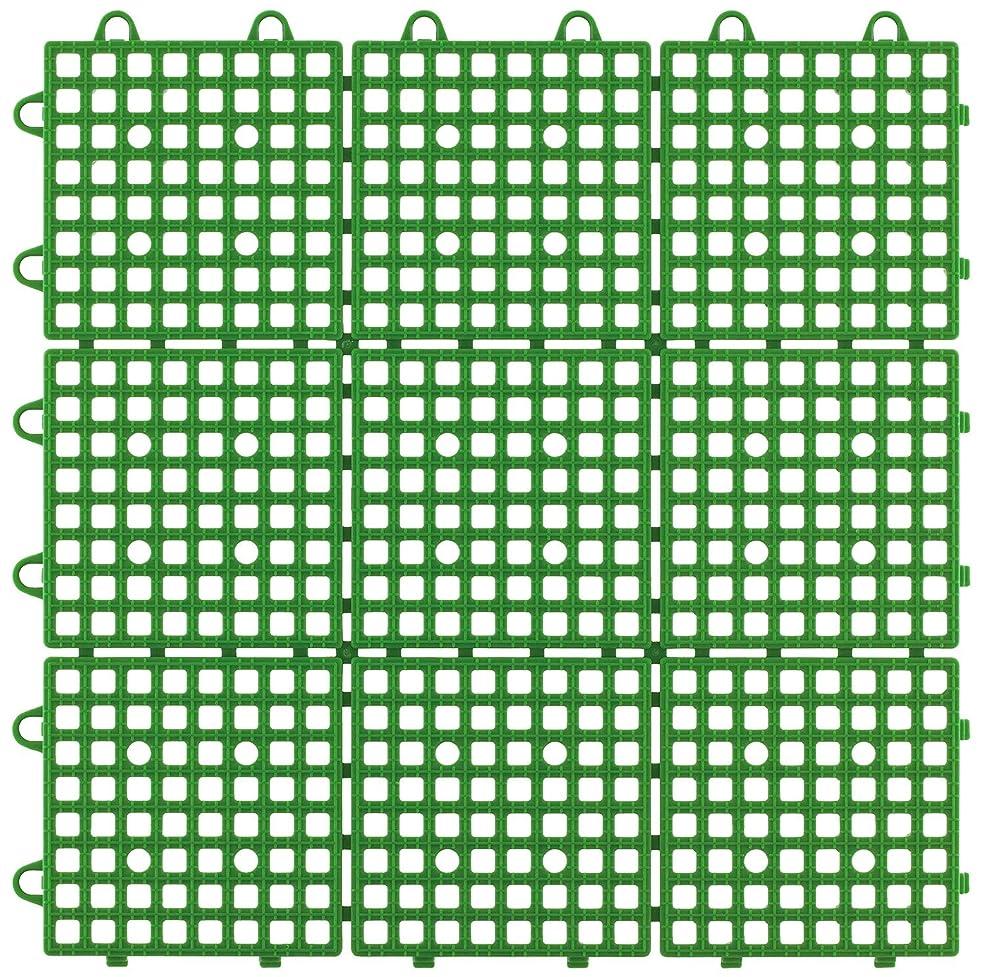 足助言する事務所日本製 システムスクエア 30枚セット グリーン