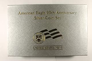 2006 P & W American Eagle 20th Anniversary Proof, Reverse Proof & Uncirculated