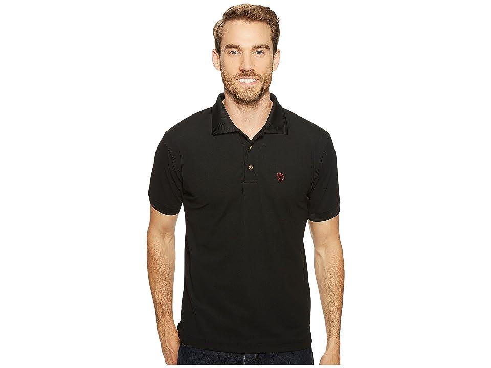 Fjallraven Crowley Pique Shirt (Black) Men