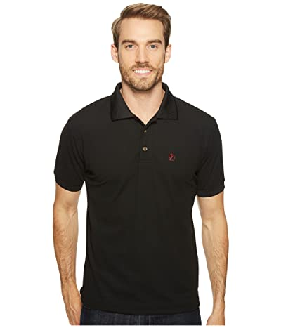 Fjallraven Crowley Pique Shirt (Black) Men