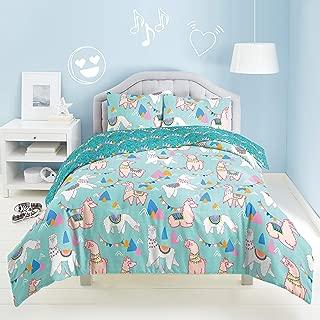 dream FACTORY Llama Rama Comforter Set, Full/Queen, Multi