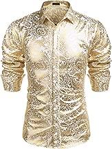 Best mens metallic shirt Reviews