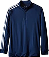 adidas Golf Kids - 3-Stripes Jacket (Big Kids)