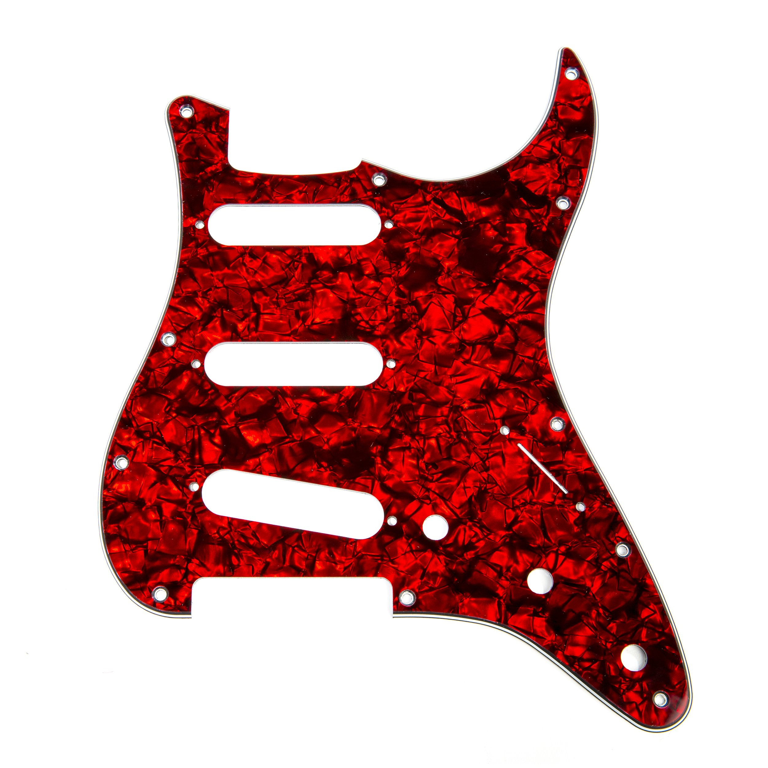 Cheap D Andrea Strat Pickguards for Electric Guitar Red Pearl Black Friday & Cyber Monday 2019