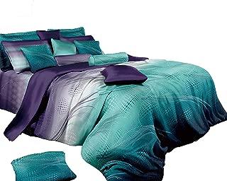 Swanson Beddings Twilight-P 3-Piece Duvet Bedding Set: Duvet Cover and Two Pillow Shams (Queen)