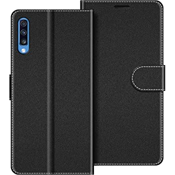 COODIO Funda Samsung Galaxy A70 con Tapa, Funda Movil Samsung A70 ...