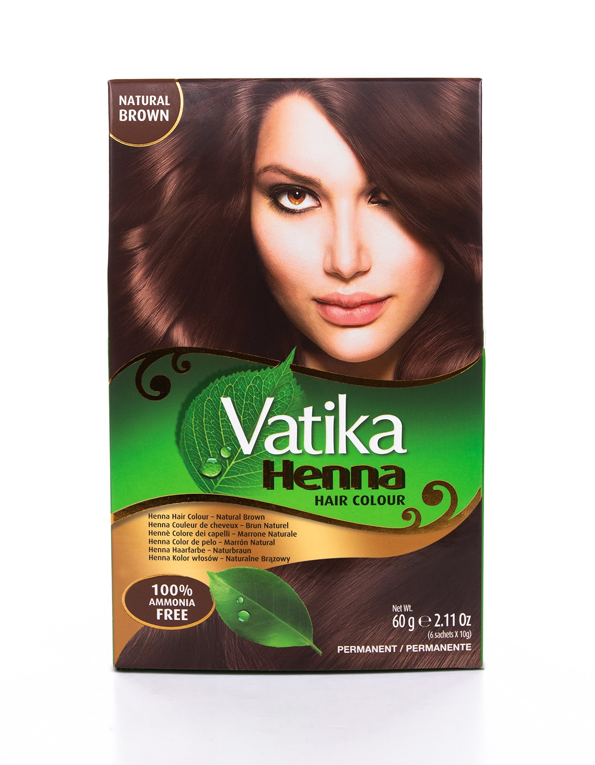 Vatika Henna Colour Natural Brown