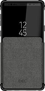 Ghostek Exec Leather Flip Card Pocket Protective Case Designed for Galaxy Note 9 – Gray