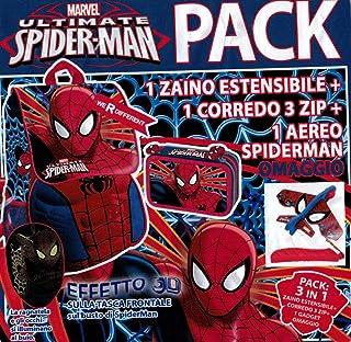 Zaini e borse sportive Zaino Asilo 3D Marvel Spiderman 2100002211 Hasbro Spiderman