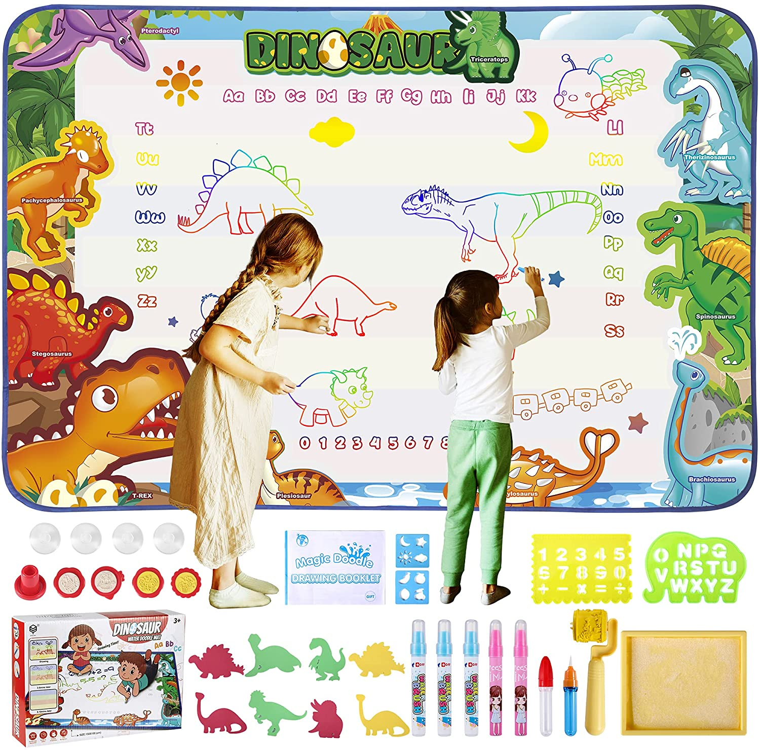 Water All items in the store Doodle Mat Aqua Magic Kid Drawing Pad Free Super Special SALE held Colori Mess