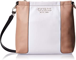Guess Womens Cross-Body Handbag, White Multi - CB766973