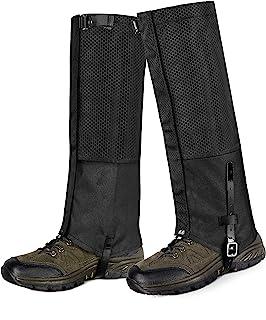 گتر ساق پا Unigear ضد آب ، گتر کفش ضد برف ، مقاومت در برابر سایش برای پیاده روی در فضای باز پیاده روی شکار کوهنوردی