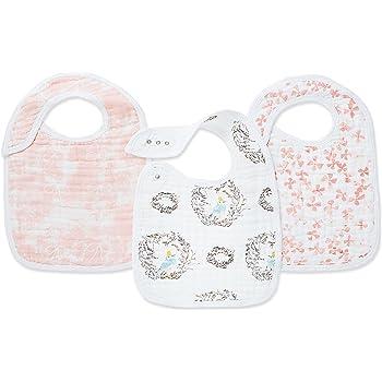 DAHLIAS Baby Burp Cloth BNIP Anais CLASSIC MUSY Aden 3 PACK