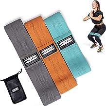 Fruscle® Weerstandsbanden set van 3 - Resistance band – Fitnesselastiek – Crossfit – Fitness – Sport – Weerstandsband - Me...