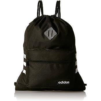 adidas Unisex Classic 3S Sackpack, Black/White, ONE SIZE