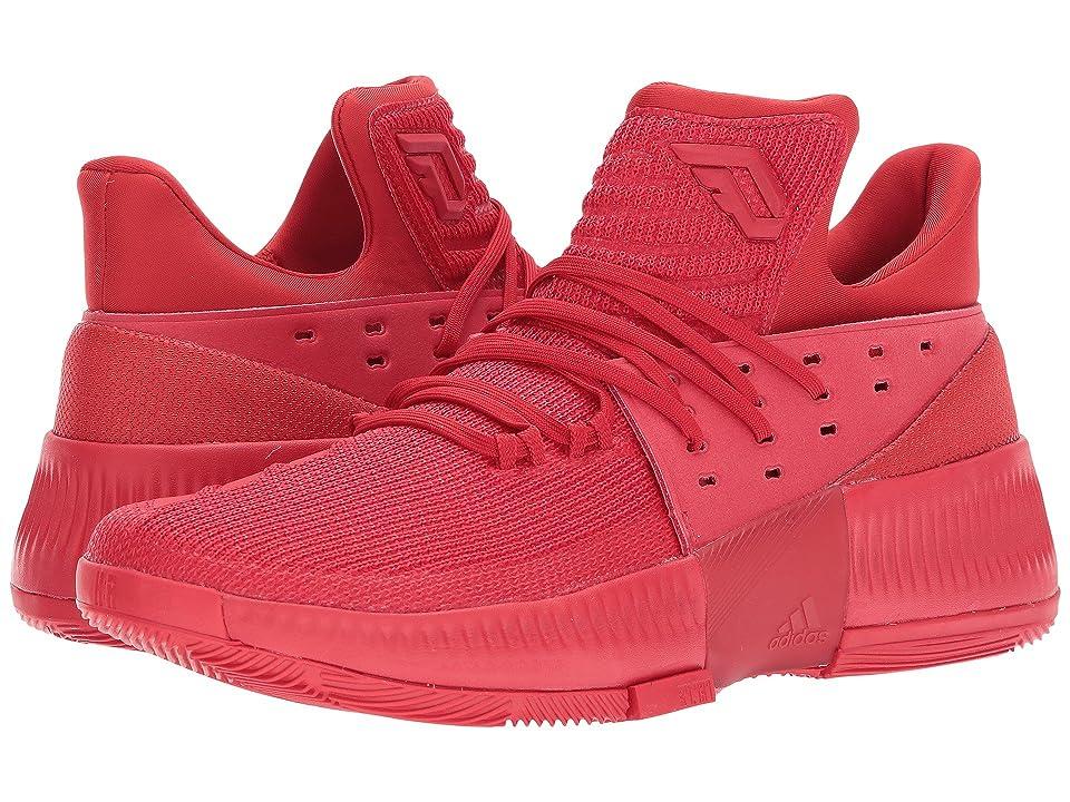 adidas Dame 3 (Scarlet/Scarlet/Scarlet) Men