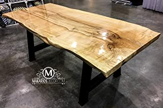 Live edge table, walnut table, dining table, conference table, restaurant table, boardroom table, office table, custom dining table, custom table, kitchen table