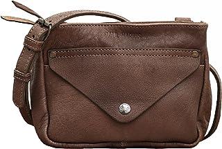 a59f9f54a4 Paul Marius LE GAVROCHE Taupe petit sac bandoulière en cuir de buffle  pleine fleur style Vintage