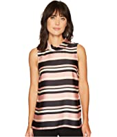 Vince Camuto - Sleeveless Modern Chords Roll Neck Tunic