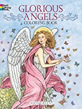 Glorious Angels Coloring Book (Dover Coloring Books)