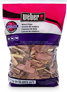 Weber Available Stephen Products 17149 Mesquite Wood Chips, 192 cu. in. (0.003 c, m³)