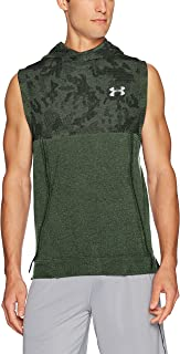 Under Armour Men's Threadborne Fleece Sleeveless Hoodie