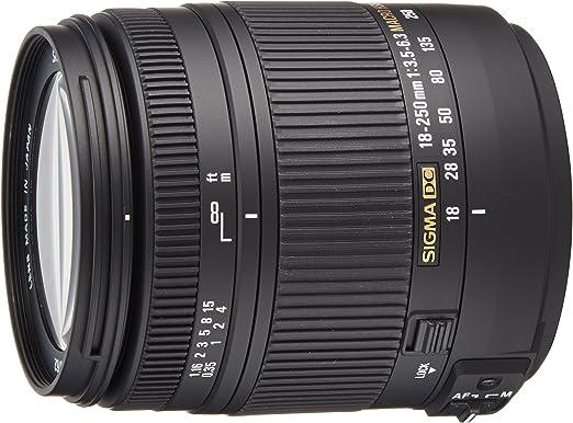 Sigma 18 250 Mm F3 5 6 3 Dc Macro Os Hsm Lens 62 Mm Camera Photo