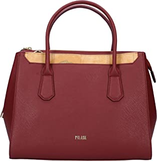 ALVIERO MARTINI Handbag in Pelle Plum