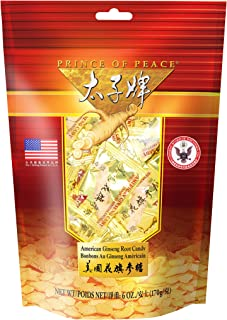 Prince of Peace American Ginseng Root Candy (6oz)