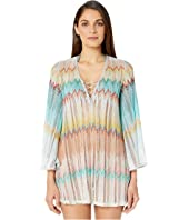 Missoni Mare - Zigzag Perforated/Sfumato Cover-Up Tunic