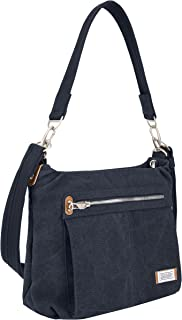 Travelon Anti-Theft Heritage Hobo Bag, Indigo, One Size