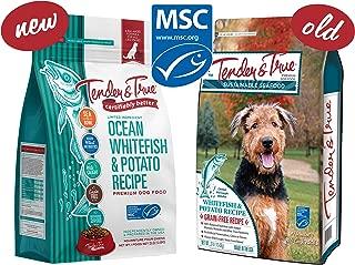 Tender & True Ocean Whitefish & Potato Recipe Dog Food, 23 lb