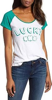 Lucky Brand womens ST. PATRICK'S LUCKY TEE T-Shirt