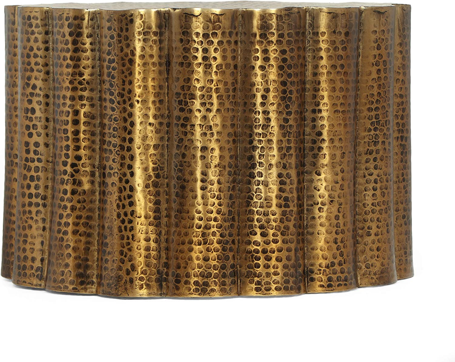 Christopher Knight Home Eloam Antique A surprise price is realized Coffee High quality Table Brass
