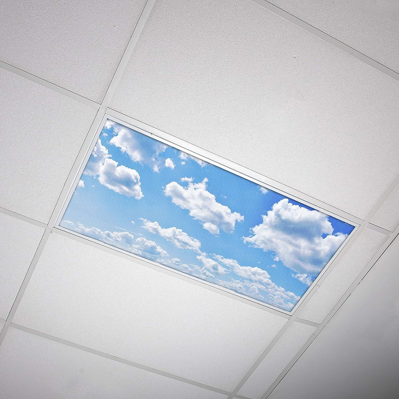 3. Octo Lights Fluorescent Light Covers  - Cloud 001