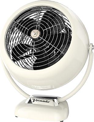 Vornado VFAN Sr. Vintage Air Circulator Fan, Vintage White
